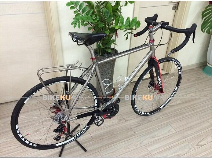 Our Titanium Bicycle Rear Rack, One Of My Customer Is So Happy With It, Do You Want To Read The Whole Story?