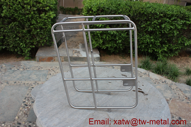 titanium bicycle rear racks