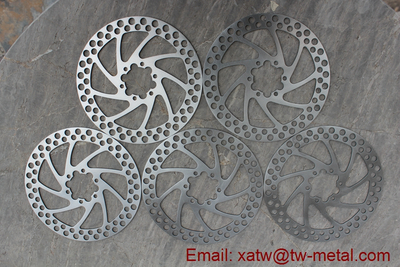 titanium bicycle disc brakes