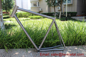 titanium touring bike frame