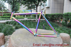 Titanium BMX Bicycle Frame 26er