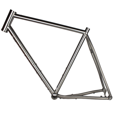 titanium cyclocross bike frame flat mount